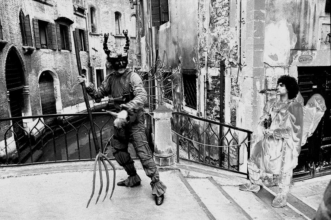 Giuliano Scabia - Giro del diavolo e del suo angelo