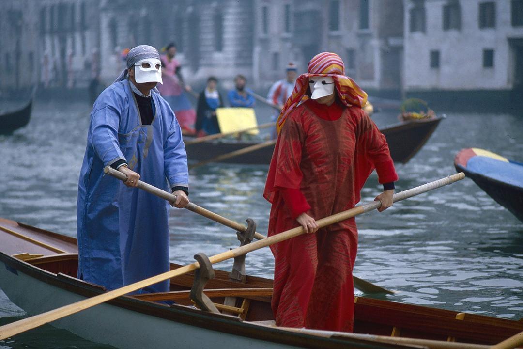 """antica maschera veneziana detta """"Bauta"""""""